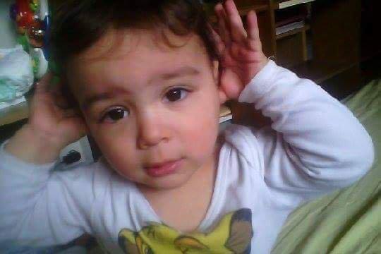 Mon filleul  il et tro beaux mouahhh mon petit prince