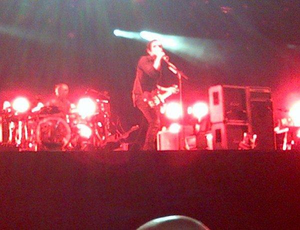 PLACEBO en concert au festival du Rock En Seine de Paris le Vendredi 12 Août 2012