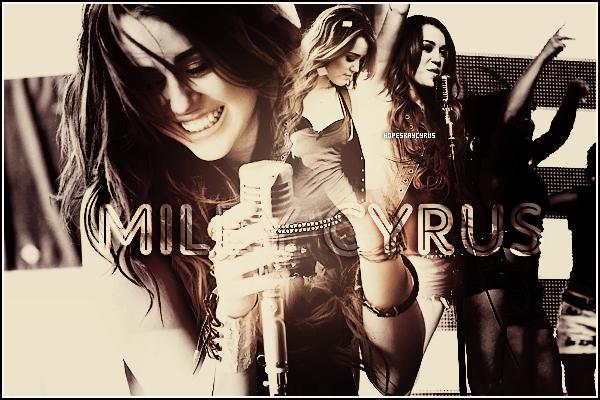 Bienvenue sur ta nouvelle source d'actualité sur la plus belle des pop stars ; Miley Cyrus !