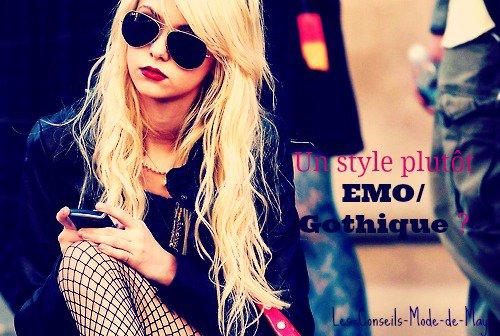 T'aimerais un style plus Emo/Gothique ?