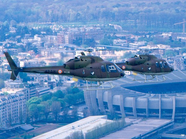 Ecureuil de chez Eurocoptère peut-être un AS350