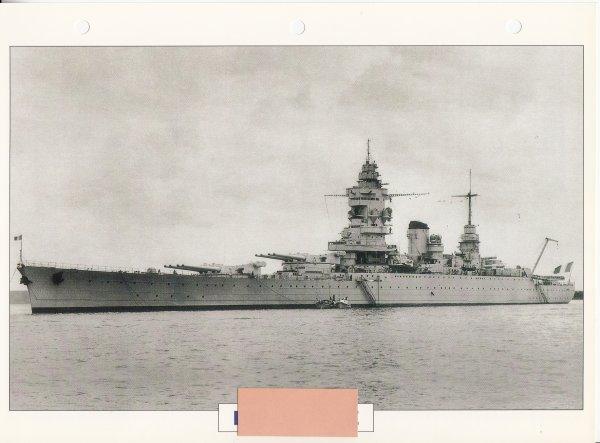Dunkerque  croiseur de bataille 1938