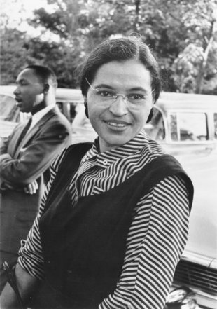 Rosa Louise McCauley Parks, dite Rosa Parks. Explications ...