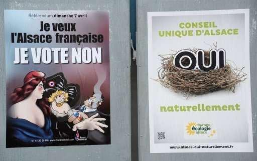 REFERENDUM du 17 avril :L'avenir de l'Alsace dans ses urnes...