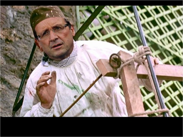 """Apres le """"petit plombier polonais """" voici le """" Président bricolo"""""""