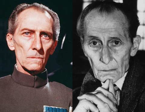Peter Cushing - Dracula - le Chien des Baskerville - Star wars