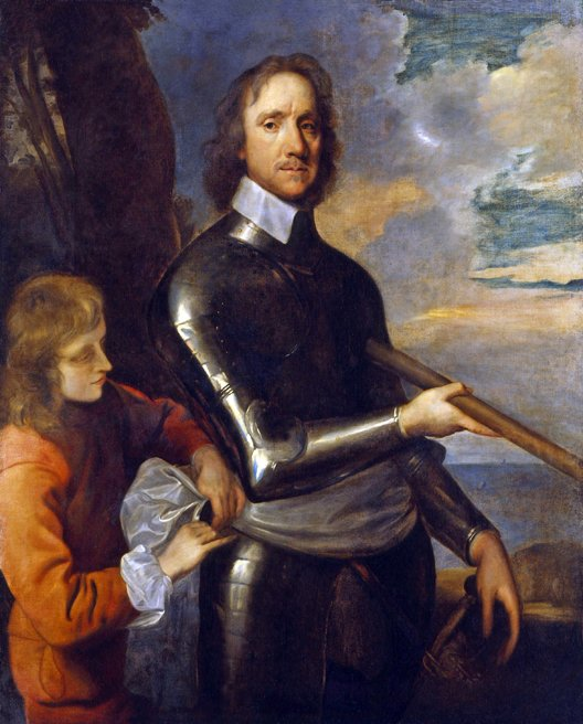 Oliver Cromwell (né à Huntingdon, le 25 avril 1599 – mort à Londres, le 3 septembre 1658) est un militaire et homme politique anglais, resté dans les mémoires pour avoir pris part à l'établissement d'un Commonwealth républicain en