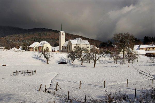 Quelques vues sur l'Alsace dans son blanc manteau ...