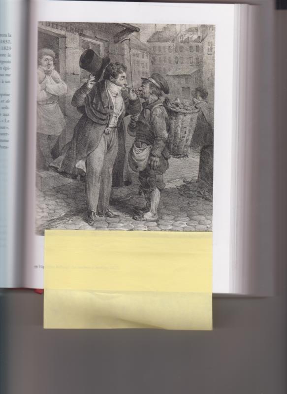 """""""Les extrêmes"""" se touchent de Joseph-Louis-Hippolyte Bellanger"""