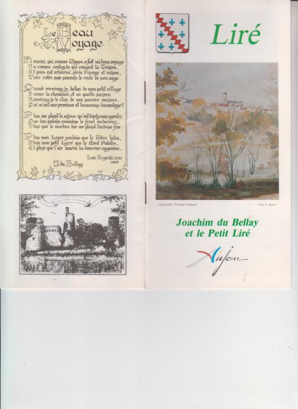 En hommage à un de mes poetes préféré - JOACHIM DUBELLAY -