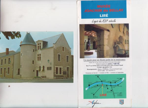 Situation et vue du Musée à Liré