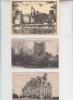 L'ancien chateau natal de Joachim et le nouveau chateau de La TURMELIERE dans lequel était le refectoir et l'administration. Les dortoirs etaient situés en face de la tour, image du milieu