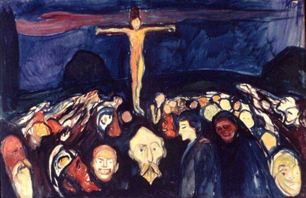 Golgotha est un tableau d'Edvard Munch, peint en 1900, peintre norvégien