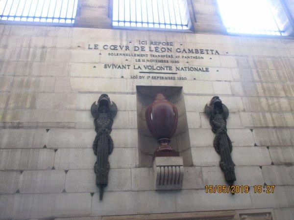 Visite au Panthéon