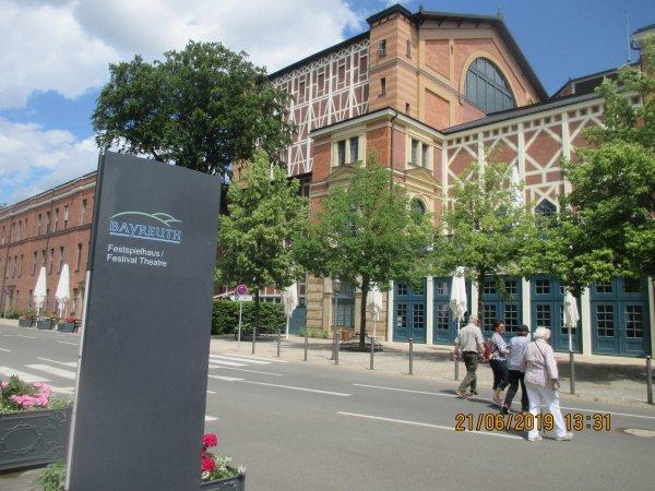 Visite de Bayreuth en Baviere, ville mythique de Richard Wagner le grand musicien