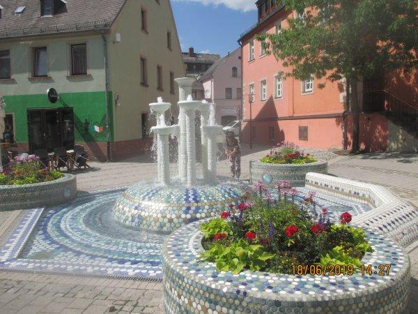Visite de la belle ville de SELB celebre pour ses porcelaines