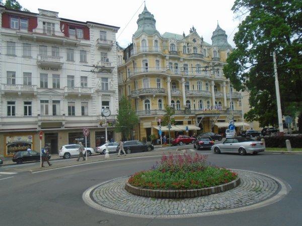 Marienbad statiion thermale réputée en Tchéquie aujourd'hui  - Marianské Làznè -