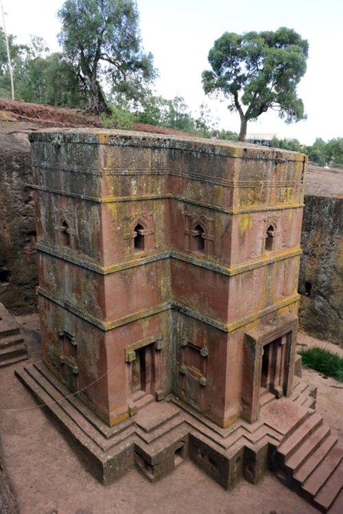 Bét Giyorgis ou Bete Giyorgis est l'un des onze bâtiments rupestres de Lalibela, aujourd'hui tous utilisés comme églises, en Éthiopie dans l'ancienne province du Lasta, à 2 600 m d'altitude