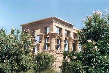 Le kiosque de Trajan, Philae en Egypte. A été déplacé lors de l'édification des barrages sur le Nil.