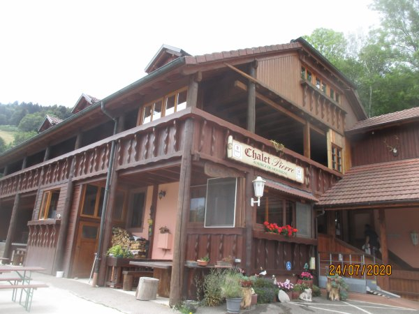 Chalet  Pierre - Ferme auberge - dans les Vosges  pres de Ste Marie aux Mines  Haut Rhin