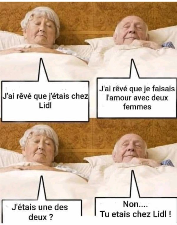 Humour de Seniors...