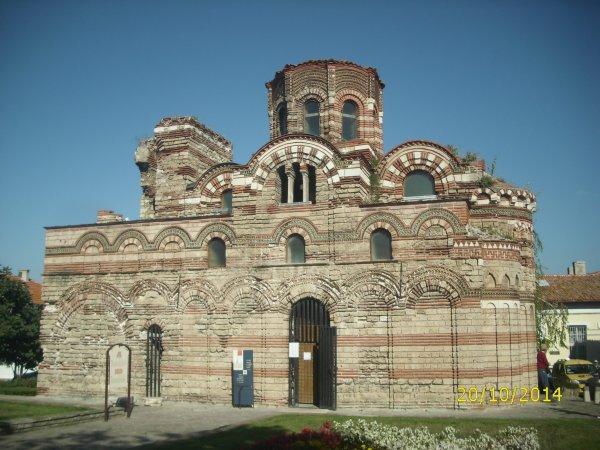 Eglise du Christ Pantocrator à Nessebar en Bulgarie  Bravo  josy mamgoud nono papi dany