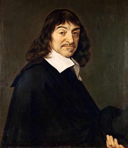 Portrait de René Descartes peint par Frans Hals en 1649 et exposé au musée STATEN POUR KUNST COPENHAGUEN pLUSIEURS COPIES DONT UNE AU LOUVRE BRAVO DANY KIKETOI PAPI PATOU JOSY MAMGOUD NONO