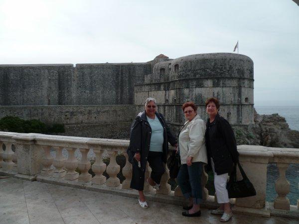 Dubrovnik en Croatie   Bravo - papi - dant - mamgoud - dany