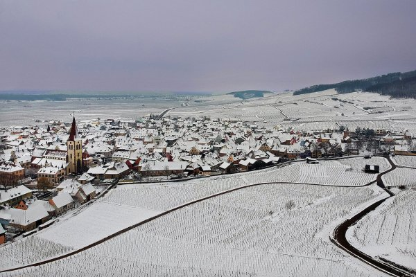 ALSACE - Ambiance hivernale -