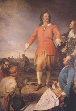 Pierre le grand pour la construction de Saint-Pétersbourg, quand il appelle à la rescousse l'architecte Jean-Baptiste Alexandre Leblond.  Bravo Dany Papi  Josy