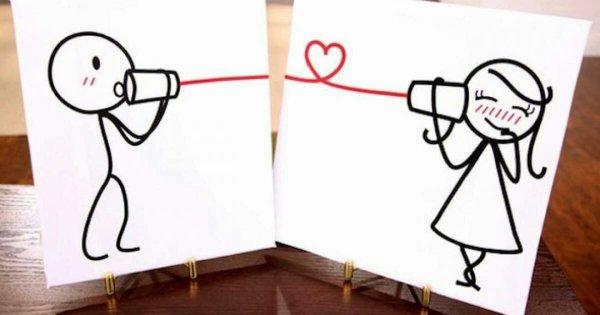 Quand deux coeurs s'aiment,  la distance n'a rien à voir.