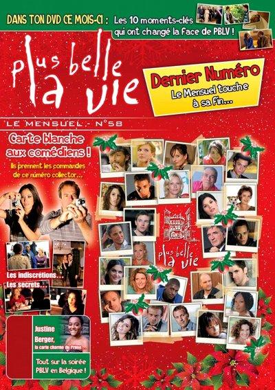 La production arrête subitement le mensuel DVD de Plus belle la vie !