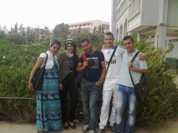 dans l'university