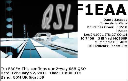 QSL des amis 1