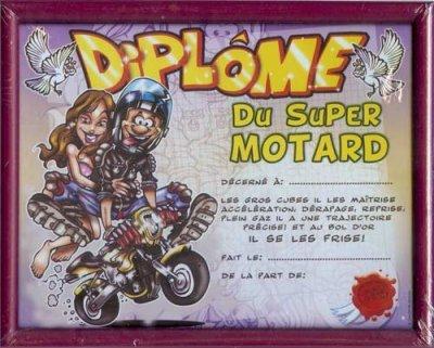 Diplome motard blog de moutzy - Image drole de motard ...