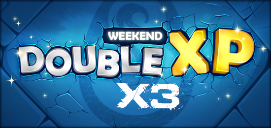 New stuff et double xp !