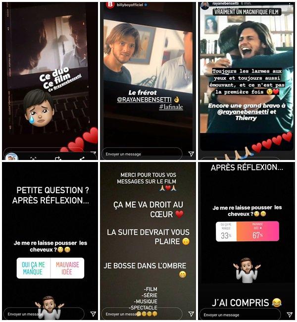Du 26 Avril au 9 Mai 2021, Rayane a posté sur son Instagram