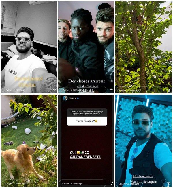 Du 9 au 29 Mai 2021, Rayane a posté sur son Instagram