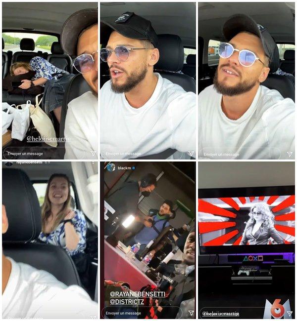Du 30 Mai au 10 Juin 2021, Rayane a posté sur son Instagram
