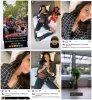 Du 27 Juin au 27 Juillet 2021, Shy'm a posté sur son Instagram