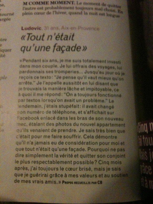 A VOTRE DEMANDE - ARTICLE DE TETU !