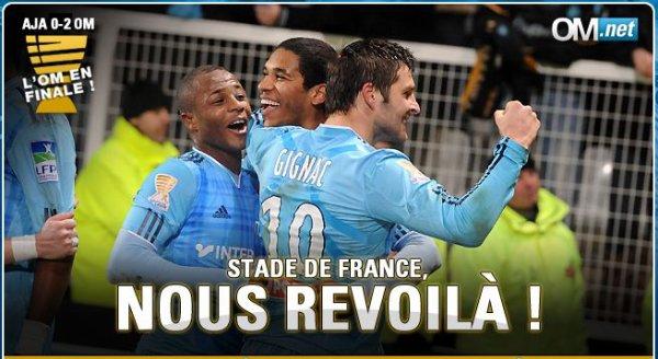 FOOTBALL : GIGNAC ET BRANDAO NOUS MENENT EN FINALE !
