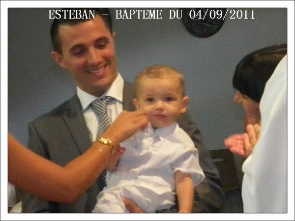 UN BAPTEME EN OR POUR MON TEBAN !