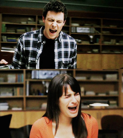 Glee always brings a smile to my face. ♥