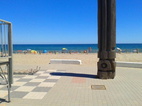 La plage du Barcares