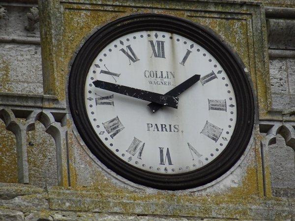 L'horloge de Notre Dame de Vernon