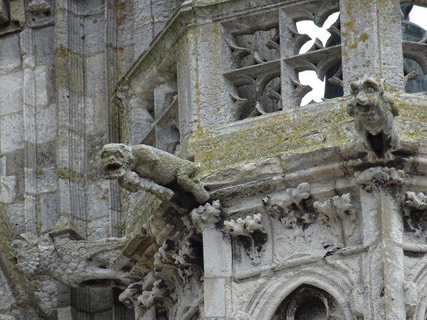 Les gargouilles de Notre Dame de Vernon (4/4)