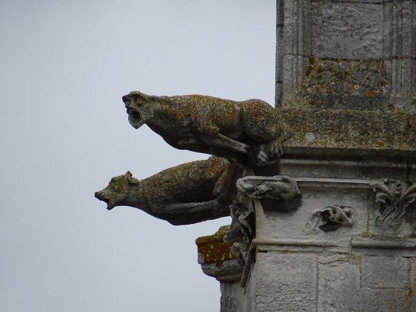 Les gargouilles de Notre Dame de Vernon (2/4)
