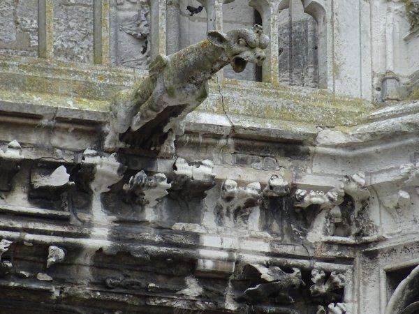 Les gargouilles de Notre Dame de Vernon (3/4)