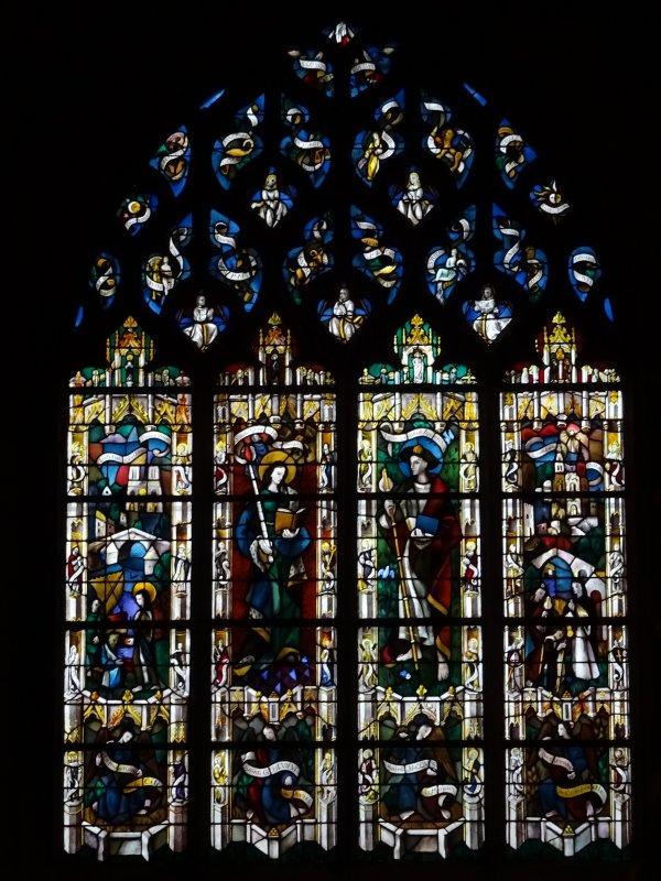 Les vitraux de Notre Dame de Vernon (3/4)